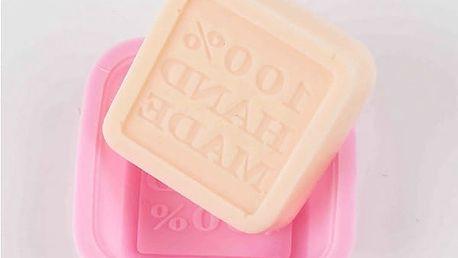 Silikonová forma pro výrobu mýdla s nápisem - dodání do 2 dnů