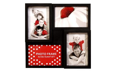 Malý multi-fotorámeček na 4 fotografie