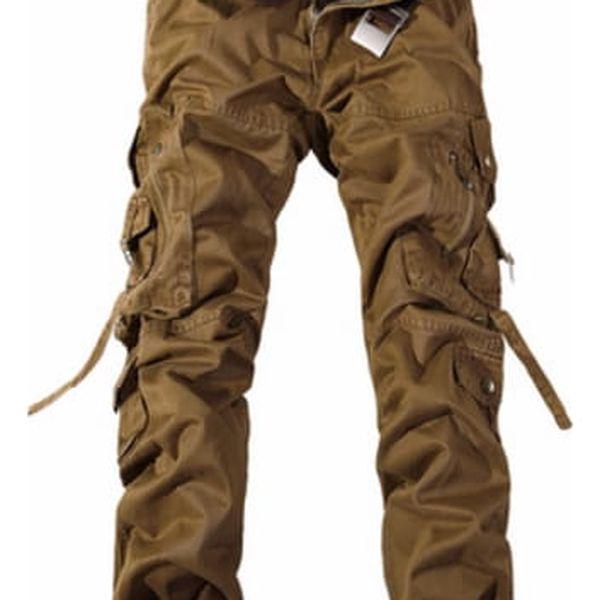 Pánské kalhoty s kapsami - 6 barev