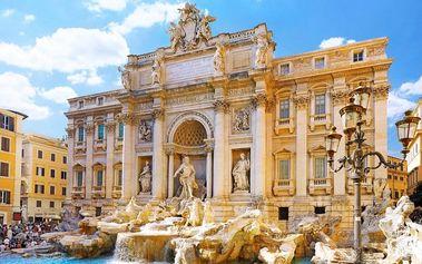 Itálie: Verona, Benátky, Řím a Florencie! 5denní zájezd pro 1 osobu vč. 2 nocí se snídaní