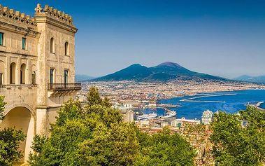 6denní poznávací zájezd do jižní Itálie s ubytováním a snídaní pro 1 osobu