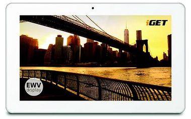 Dotykový tablet iGET Smart S100 bílý Software F-Secure SAFE 6 měsíců pro 3 zařízení (zdarma)