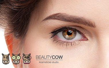 Permanentní make-up obočí metodou 3D vláskování v Salonu Goldenhair v Brně