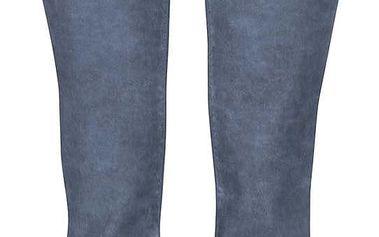 Modré džíny s opraným efektem ONLY Hazel