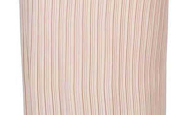 Starorůžová plisovaná midi sukně Dorothy Perkins