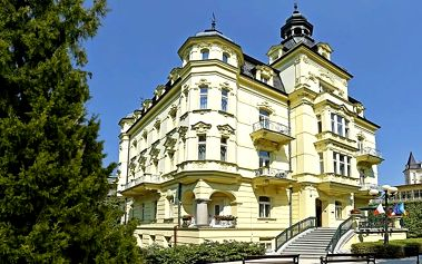 4denní wellness pobyt se saunou v hotelu Mignon pro 2 v Karlových Varech