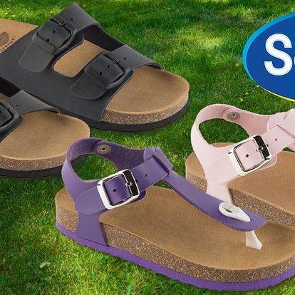 Dětské zdravotní pantofle Scholl Kid