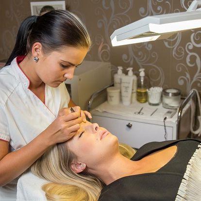 Diamantová mikrodermabraze + UTZ špachtle + lymfodrenáž + možnost bělení zubů/masáž