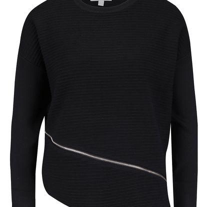 Černý svetr s dlouhým rukávem Apricot
