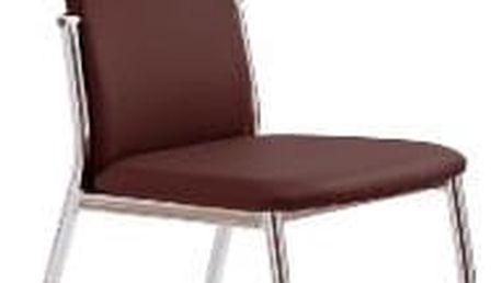 Jídelní židle K3 Halmar hnědá