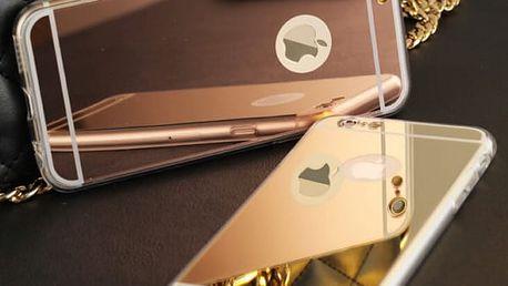 Pouzdro pro iPhone 5S SE/iPhone 6 plus/iPhone 6/iPhone 7 - průhledné