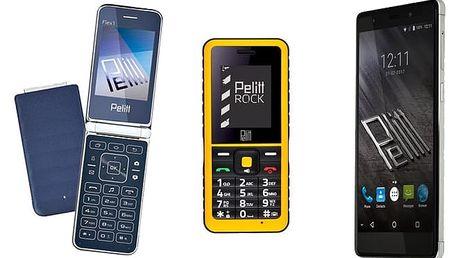 5 odolných smartphonů Pelitt pro milovníky selfie, hudby i extrémních sportů