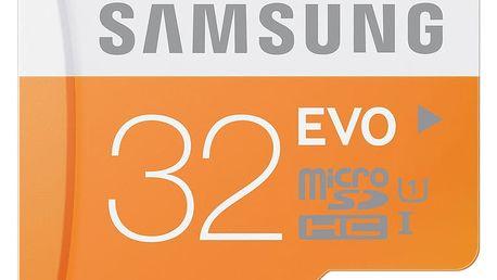 Samsung Micro SDHC EVO 32GB + SD adaptér - MB-MP32DA/EU