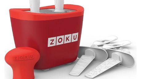 Zmrzlinovač Zoku Duo, červený