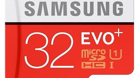 Samsung Micro SDHC EVO Plus 32GB + SD adaptér - MB-MC32DA/EU