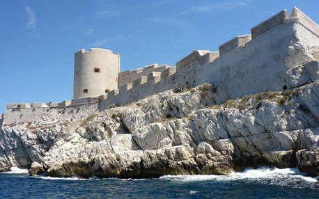 Poznejte Francii: 5denní zájezd do Provence, Marseille, ostrov If, Cannes a Monaco vč. snídaně a ubytování