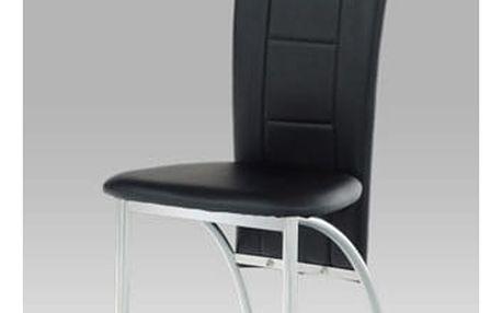 Jídelní židle AC-1019 BK Autronic