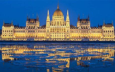 3–4denní pobyt se snídaněmi a fitness pro 2 v hotelu Polus*** v Budapešti