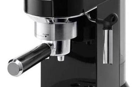 Espresso DeLonghi DEDICA EC680BK černé + Doprava zdarma