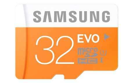 Samsung Micro SDHC EVO 32GB UHS-I U1 (48MB/s) + adapter (MB-MP32DA/EU)
