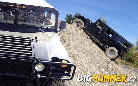 30 minut řízení Hummeru H1 v Milovicích na offroad dráze