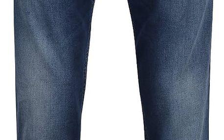 Tmavě modré pánské džíny s vyšisovaným efektem s.Oliver