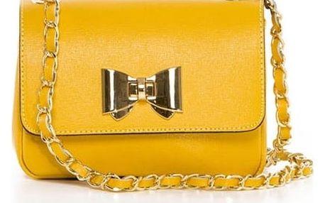 Dámská kabelka Pia Sassi, žlutá