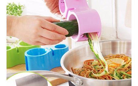 Spiralizér pro přípravu zeleninových špaget
