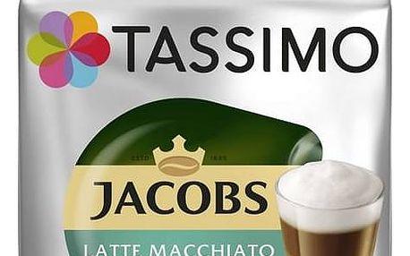 Kapsle pro espressa Tassimo Jacobs Krönung Latte Macchiato less sweet 236g