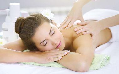 Uvolňující masáž dle vlastního výběru