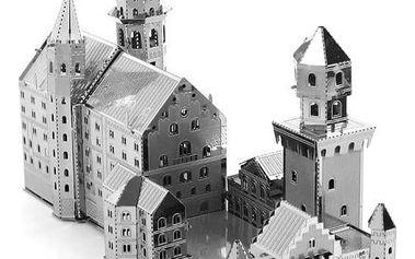 Zámek Neuschwanstein - 3D puzzle
