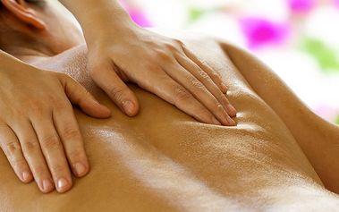 50minutová masáž zad a šíje v Salónu PRETTY-UP