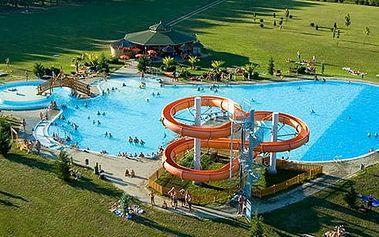 Maďarsko, termální lázně Lenti**** na 5 dní pro dva s bohatou polopenzí a neomezeným wellness