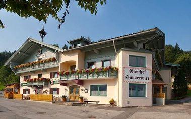 Rakousko, Tyrolsko - Brixental na 4 dny pro 1 osobu s ALL INCLUSIVE light, děti zdarma