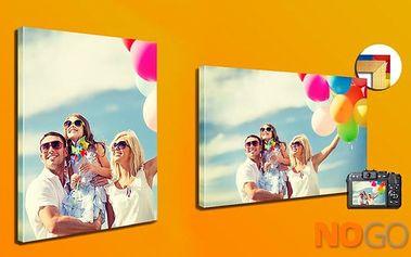 Kvalitní fotoobraz z vaší fotky napnutý na dřevěném rámu v 5 různých velikostech