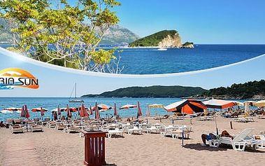 Černá Hora, Bečiči: 7 nocí pro 1 osobu včetně snídaní nebo polopenze + možnost busu