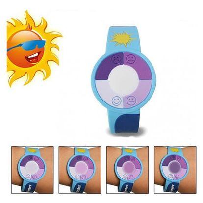 Dětský náramek pro sledování intenzity UV záření