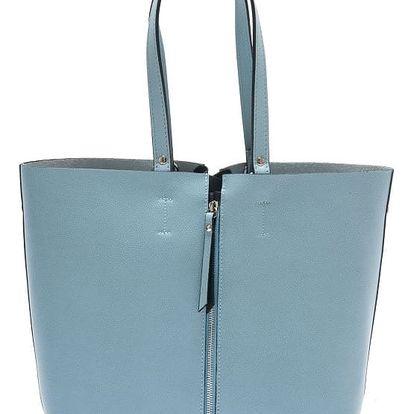 Modrá kožená kabelka Isabella Rhea Allium - doprava zdarma!