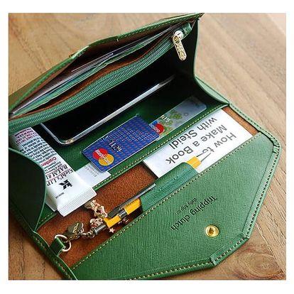 Dámská peněženka ve stylu psaníčka