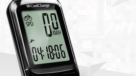 Cyklistický digitální tachometr s několika dalšími funkcemi