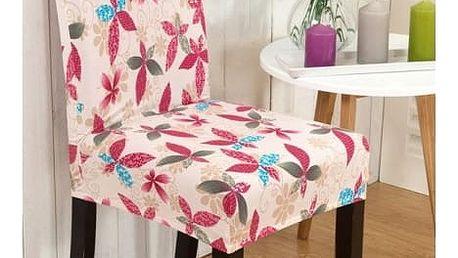 Univerzální potah na židli s módním vzorem - 8 variant