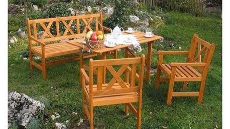 Zahradní nábytek Rojaplast Alpen oranžový