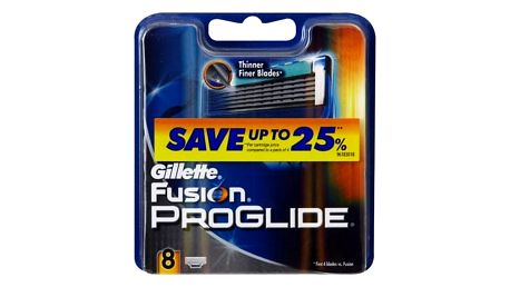 Gillette Fusion Proglide 8 ks náhradní břit pro muže
