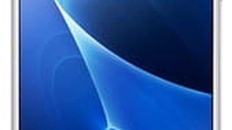 Samsung Galaxy J7 2016 J710F, White + Samsung transparentní kryt
