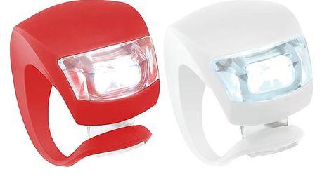 Sada bezpečnostních silikonových světel na kolo