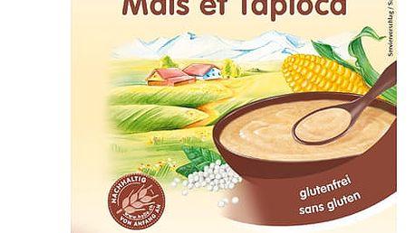 3x HOLLE Organická kukuřičná kaše s tapiokou - 250g