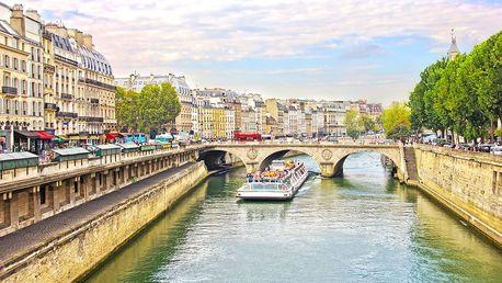 Francie, Paříž: 3denní výlet pro 1 osobu včetně dopravy a průvodce