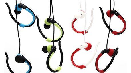 Sportovní bezdrátová sluchátka s Bluetooth v různých barvách