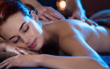 Detoxikační masáž zad či zkrášlující masáž obličeje