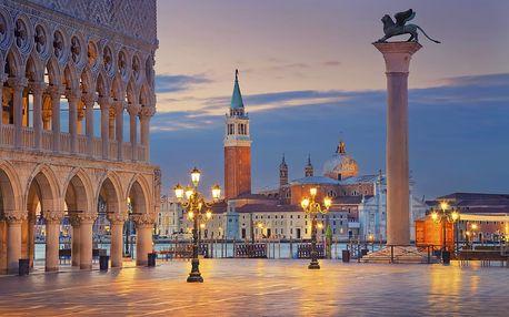 Benátky + Burano a Murano nebo koupání v Bibione: 3denní poznávací zájezd pro 1 osobu